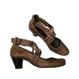 Pikolinos Strappy Maryjane Heels